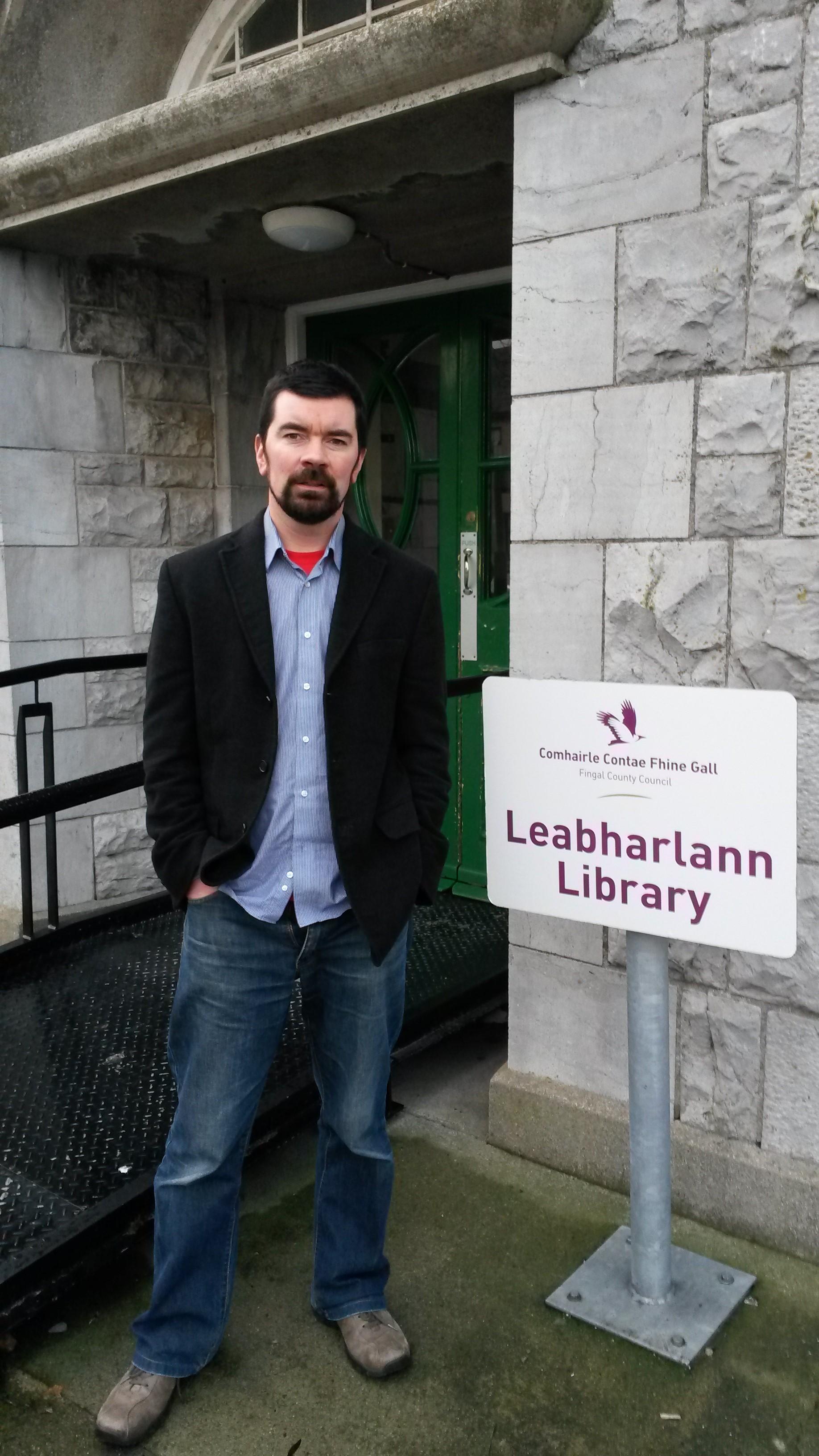 Joe O'Brien at Skerries Library