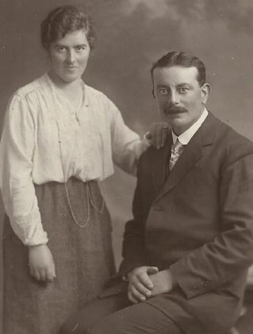 Bridget and James Harte - Grandparents of Joe O'Brien